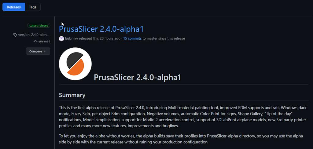 PrusaSlicer 2.4.0-alpha1